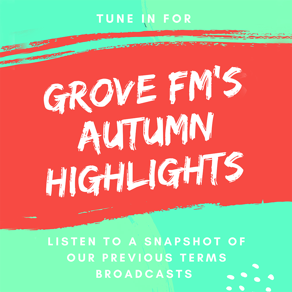 Grove FM's Autumn Highights